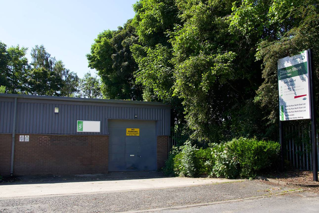 Coulson Street Industrial Estate