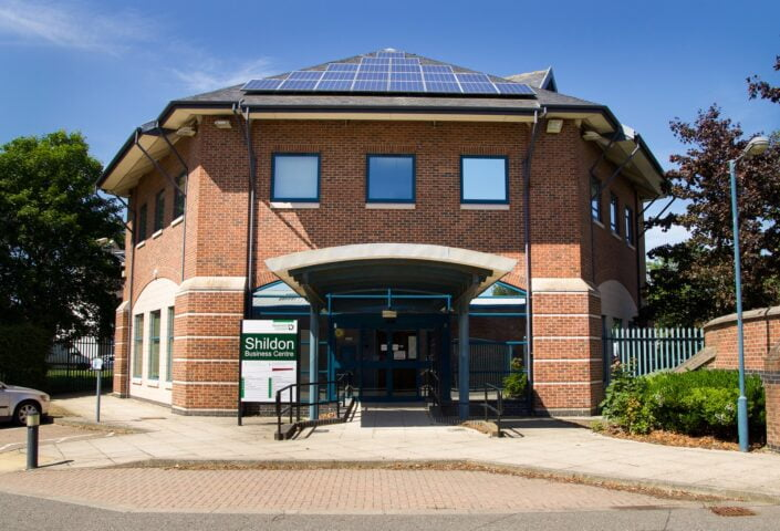 Shildon Business Centre offers thirteen modern offices ranging in size from 115 to 666 sq ft.