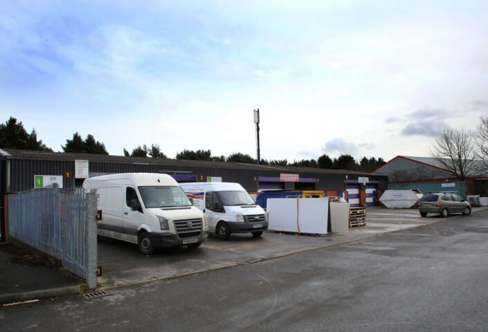 Industrial space between 847 sq ft to 1,694 sq ft. is available at Tudhoe Industrial Estate in Spennymoor.