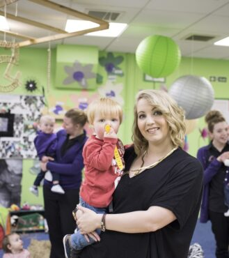 Laura Leigh Davies from Child's Play Private Nursery have received support from the Durham Business Opportunities Programme