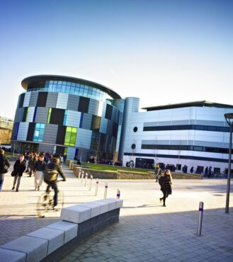 Skills and talent - durham University is a world top 100 university - pictured is the Calman Learning Centre Durham University