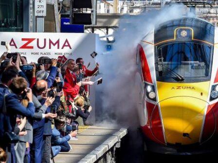 Train enthusiasts given chance to name Azuma