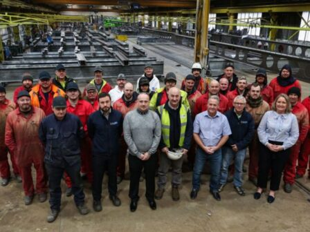 Finley Structures celebrates longlasting business relationship