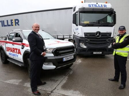 Logistics firm Stiller the latest to sign up for Sparta Security services