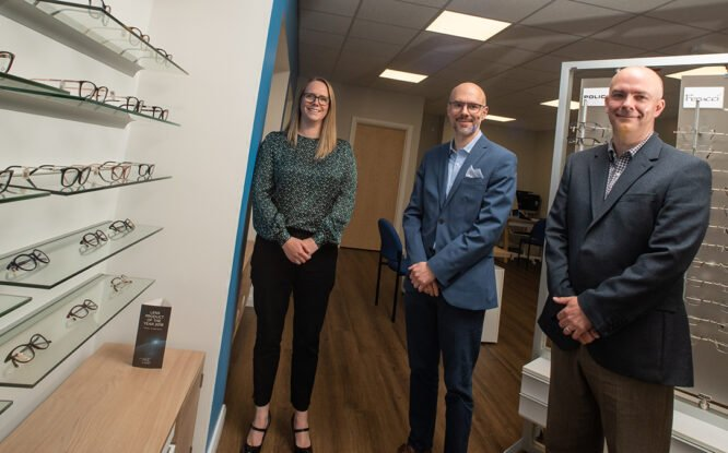 Move To New Premises Marks Start Of Further Expansion For Local Optician