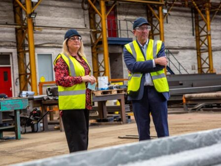 Milestone for family owned steel company