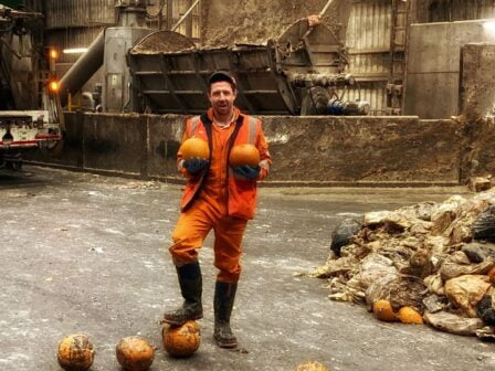 Food waste firm Warrens Group taps into pumpkin power to fuel fleet this Halloween