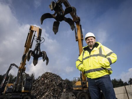Shildon Recycling firm grows workforce after £1.5m investment