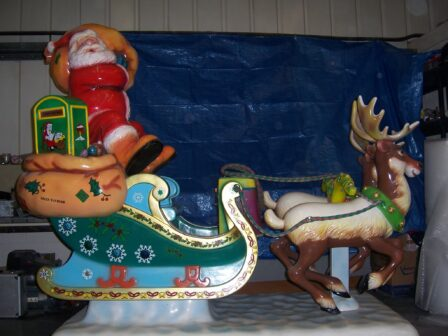 County Durham firm refurbishes Christmas cheer rides