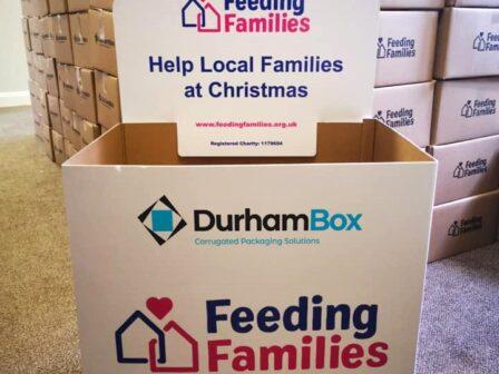 Durham Box supports Feeding Families charity
