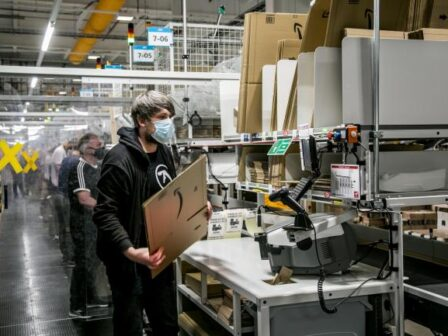 First look inside Amazon's newest warehouse at Bowburn in Durham