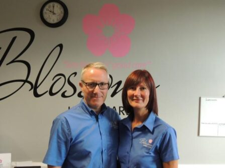 New business is blooming in Barney for Paul and Jo
