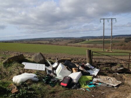 Money generated from sale of vehicles used in fly-tipping incidents to help improve local communities