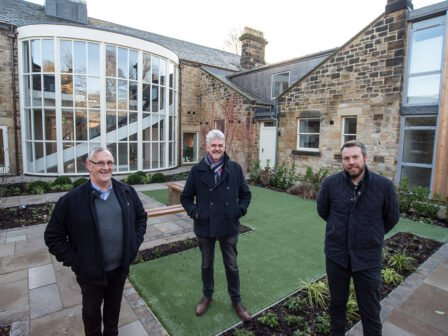Durham-based architect celebrates completion of listed residential scheme