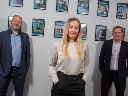 Growth plans back on track as publisher makes new appointment