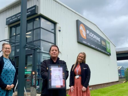 Charity Presents County Durham Retailer With Award